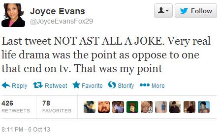Evans' Response