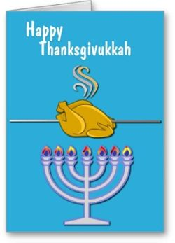 Thanksgivukkah card