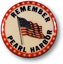 Pearl Harbor lapel pin